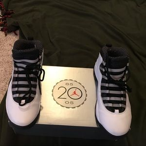 PADS NIB AIR JORDAN 10 RETRO NEVER WORN SIZE 11.5